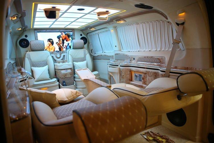 Araplara özel vip araç!