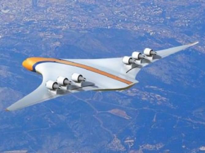 Geleceğin süper uçağı
