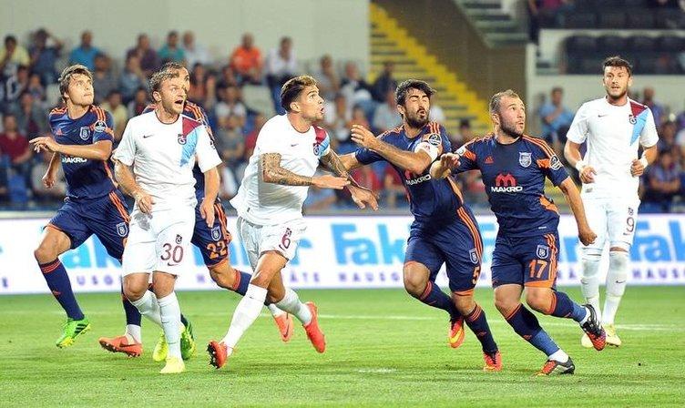 Başakşehirspor - Trabzonspor maçının fotoğrafları