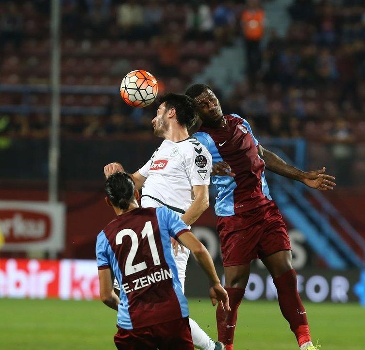 Trabzonspor - Torku Konyaspor maçından kareler