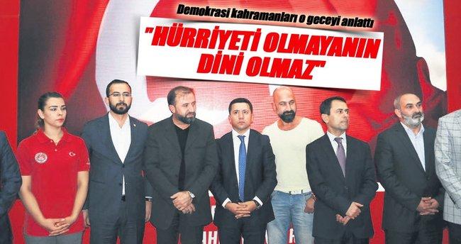 15 Temmuz kahramanları Nevşehir'de