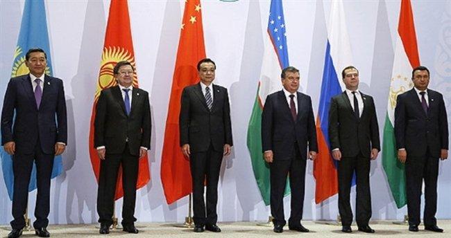 Şangay İşbirliği Örgütü Bişkek'te toplandı