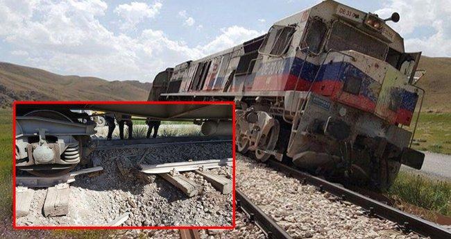PKK'dan trene bombalı tuzak!