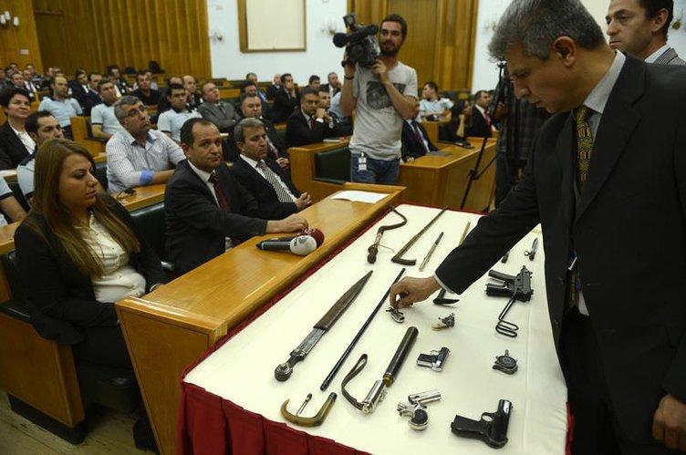 Meclis polisine suikast eğitimi