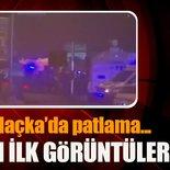 İstanbul'daMaçka Parkı yakınında gerçekleşenpatlamadan ilk görüntüler