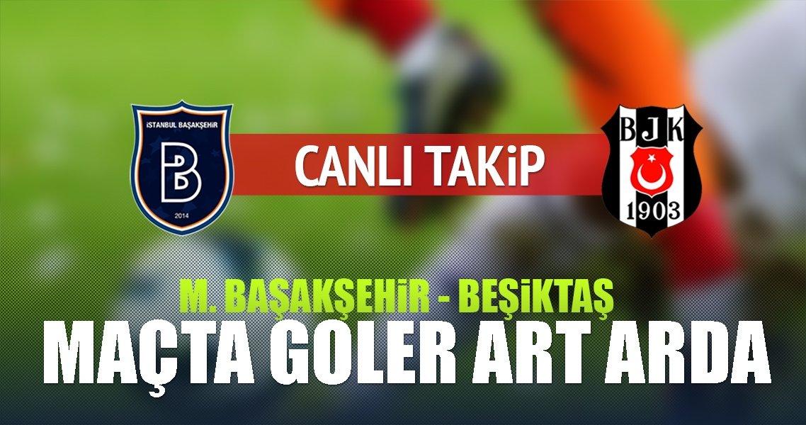 Medipol Başakşehir-Beşiktaş (CANLI)