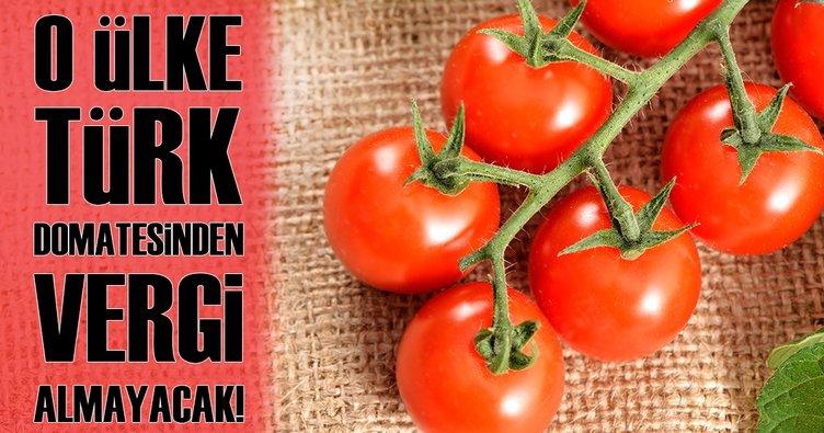 İsrail Türkiye'den ithal edilecek domatesten vergi almayacak