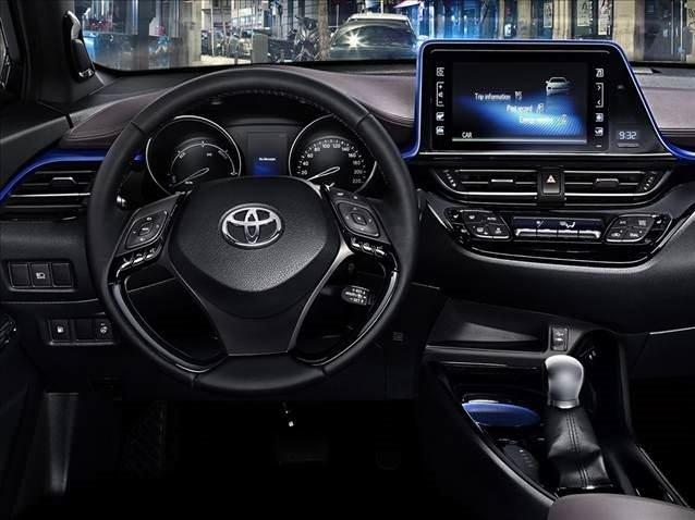 İşte Toyota'nın yerlisi C-HR'ın iç mekanı