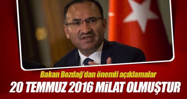 Adalet Bakanı'ndan açıklama