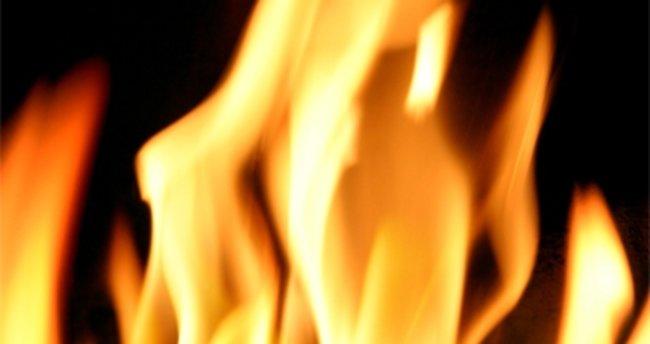 ABD'de bir kadının kıyafeti ateşe verildi