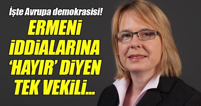 Ermeni iddialarına karşı ret oyu kullanan vekil aday yapılmadı!