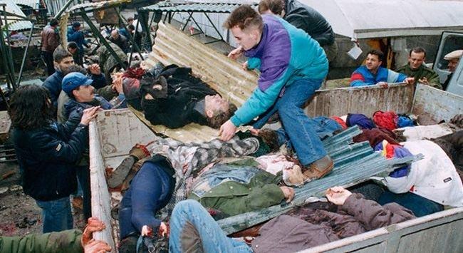 Pazar yeri katliamının 21. yıldönümü