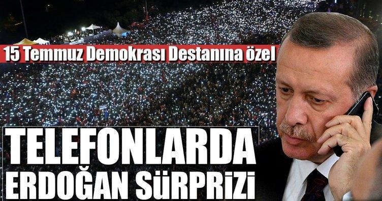 Cumhurbaşkanı Erdoğan'dan sesli mesaj