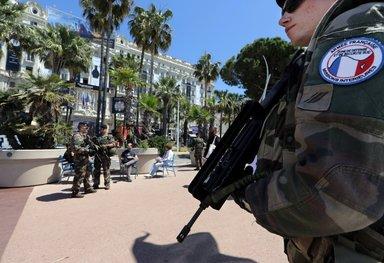 Cannes Film Festivali için geniş güvenlik önlemleri