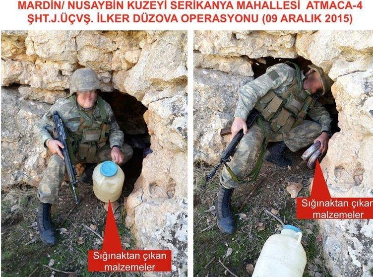 İşte PKK sığınağından çıkanlar