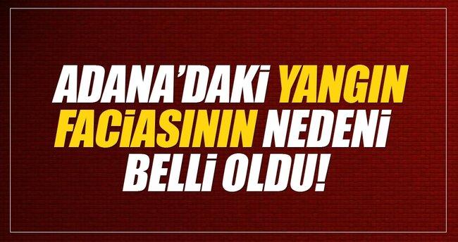 SON DAKİKA: Adana Aladağ'daki yurt yangının nedeni belli oldu
