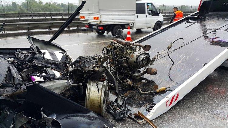 TEM'de kaza: 4 yaralı!