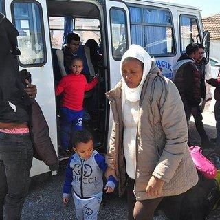 Ayvacık'ta 49 mülteci yakalandı