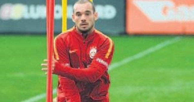 Sneijder kulübeye!