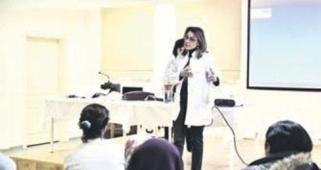 Bu yılın ilk kanser semineri Nenehatun Aile Merkezi'nde