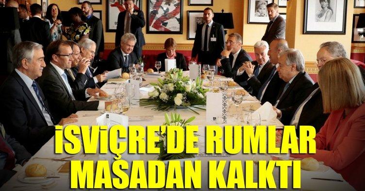 İsviçre'de Rumlar masadan kalktı iddiası