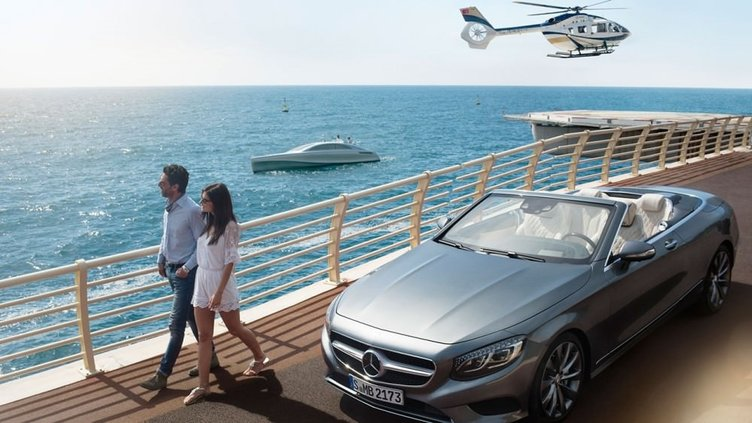 Mercedes'in geliştirdiği yat kara sulara indi