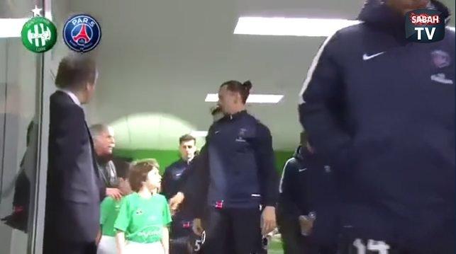 Ibrahimovic'ten beklenmedik hareket