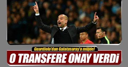 Guardiola'dan Galatasaray'a müjde!