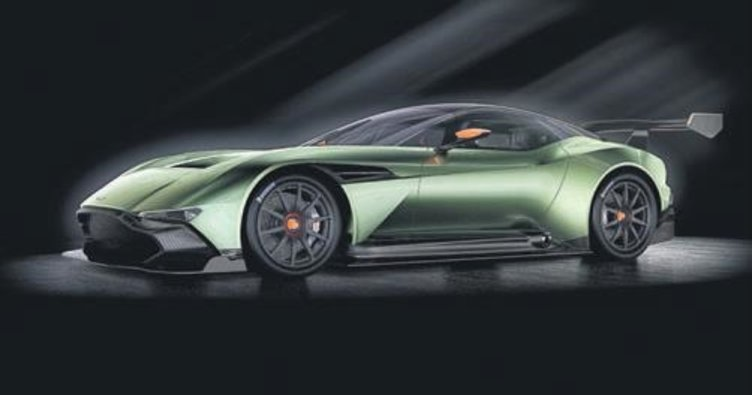 Aston Martin Vulcan 24 adet üretildi