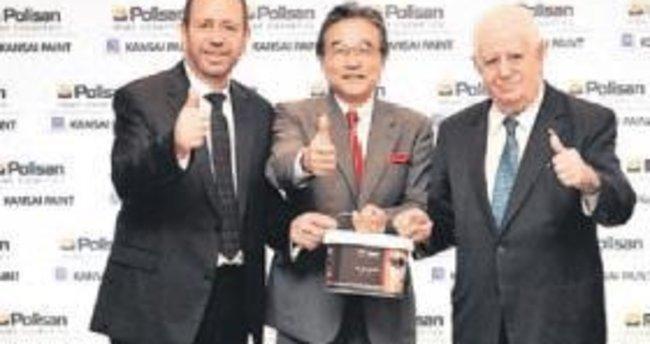 Polisan Boya'nın yarısını Japonlar aldı