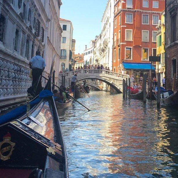 Demet Kutluay'ın İtalya tatili