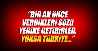 Milli Savunma Bakanı'ndan flaş YPG açıklaması