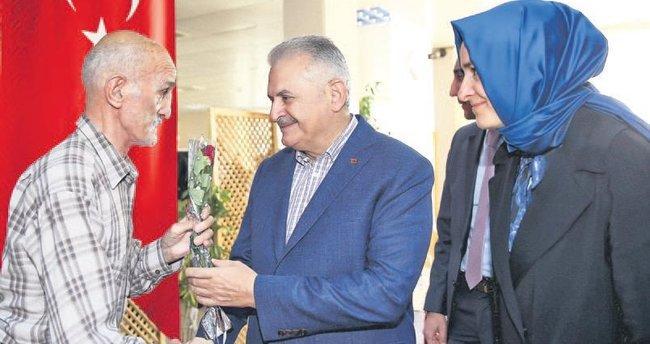 Başbakan'dan anlamlı ziyaret