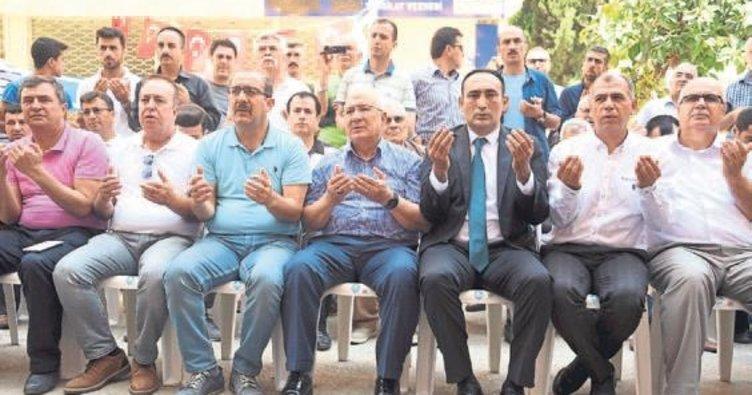 Türkmen ailelerine yardım kampanyası