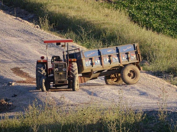 Bomba yüklü traktör infilak ettirildi