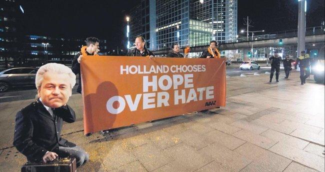Hollanda'da sandıktan ırkçı söylem çıktı