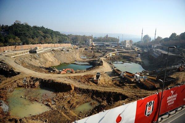 İşte İnönü Stadı'nın son hali