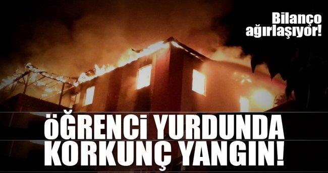 SON DAKİKA: Adana Aladağ'daki yurtta yangın çıktı!