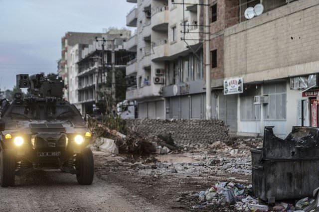 Nusaybin'de PKK operasyonu