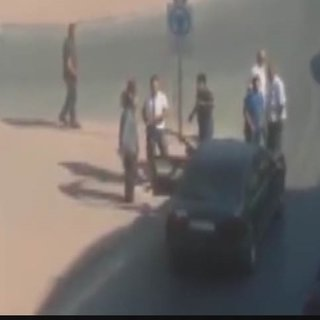 Tartıştığı sürücünün otomobiline ateş açan sürücü yakalandı
