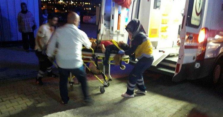 Hafif ticari araç öğrencilerin arasına daldı: 2 ölü, 16 yaralı