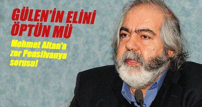 Mehmet Altan'a zor Pensilvanya sorusu: Gülen'in elini öptün mü?