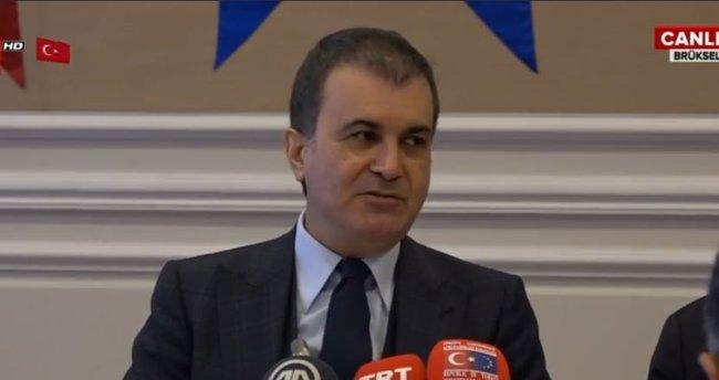 AB Bakanı Ömer Çelik'ten önemli açıklamalar