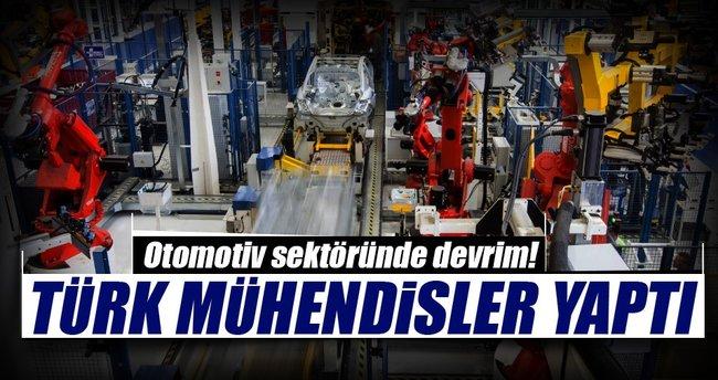 Dünyada örneği yok Türk mühendisler yaptı
