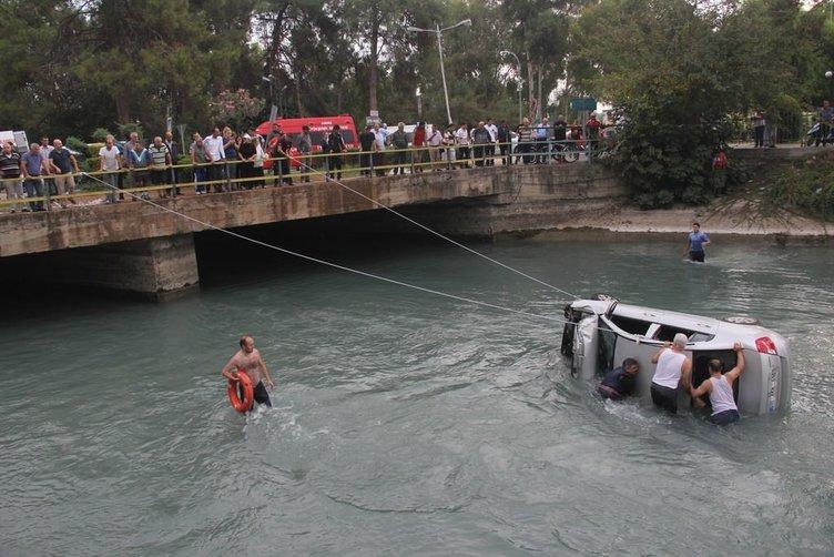 Sulama kanalında can pazarı