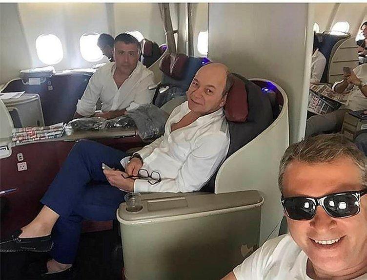 Fikret Orman iki transferi uçakta açıkladı