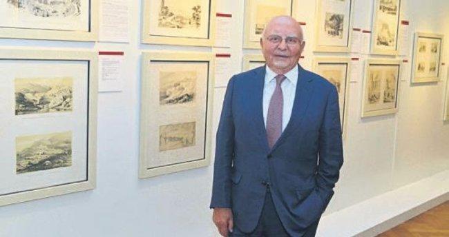 Anadolu Seyahatleri 19.Yüzyıl sergisi açıldı