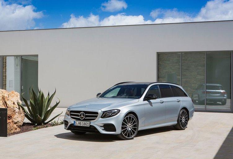 2017 Mercedes-Benz E-Class Estate görücüye çıktı