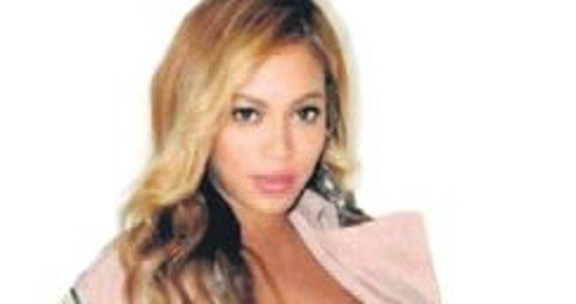 Beyonce'nin karnı iyice belirginleşti
