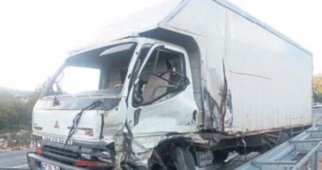 Akseki'de kaza: 2 kişi yaralandı